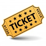 Ticket Clip Art #9040